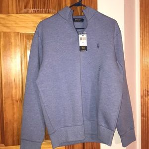 NWT Men's M Polo Blue Pullover